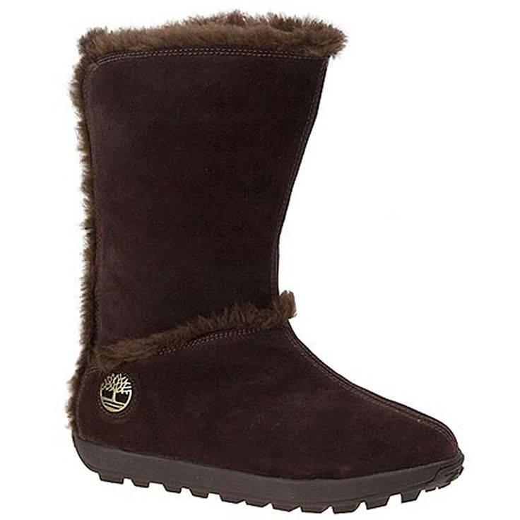 Timberland Women's Mukluk 10' 10 B(M) US Brown-Suede * Click on the image for additional details.