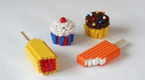 LEGO food: favorite food created with bricks and bricks created with food [NEWS]