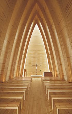 Taidekappeli / St. Henry's Ecumenical Art Chapel, Turku, Finland.