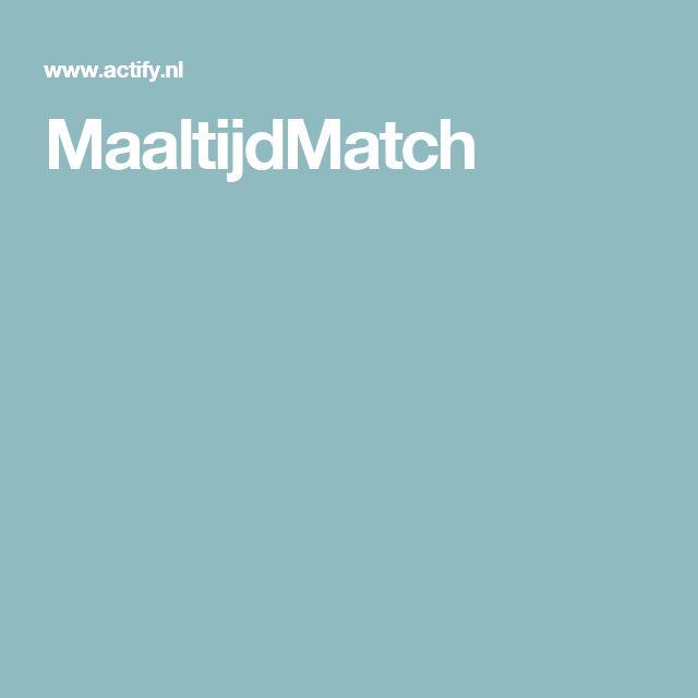 MaaltijdMatch