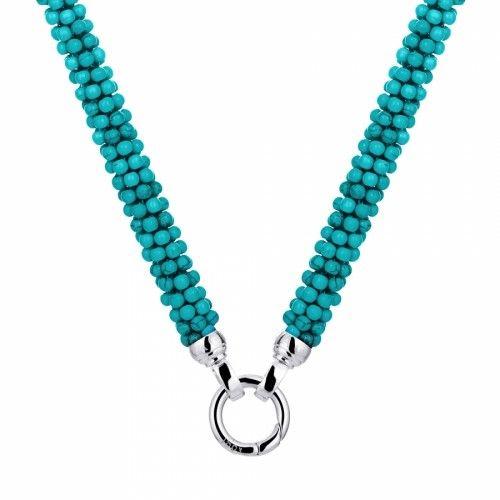 KAGI Turquoise Weave Necklace
