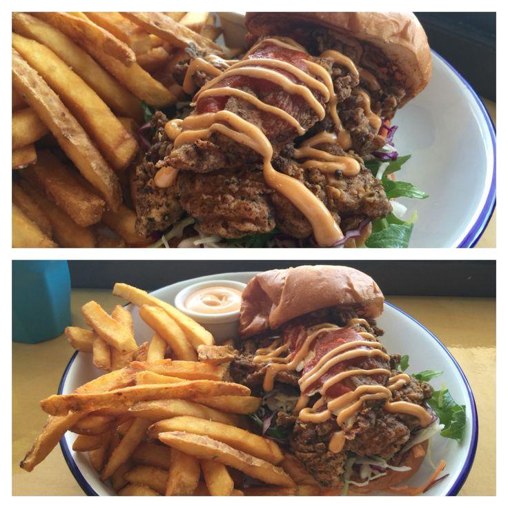 #johnnylobster chicken burger #crowsnest
