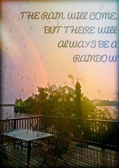 #rain #rainbow