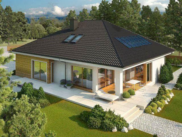 Construindo Minha Casa Clean: Fachadas de Casas Brancas!!!