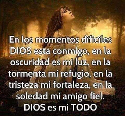 Dios es mi todo