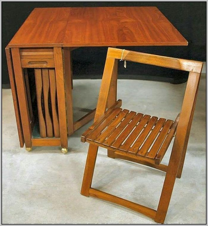 Drop Leaf Table With Folding Chairs Stored Inside Uses And Benefits Drop Leaf Table Leaf Table Folding Chair Drop leaf table with folding chairs