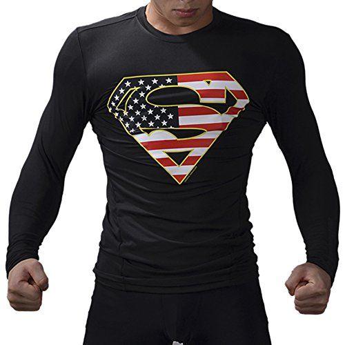 M.Baxter Hombres Ropa de Ejercicio de Secado Rápido Carrera de Entrenamiento Sudadera Bellamente Modeladas #camiseta #starwars #marvel #gift