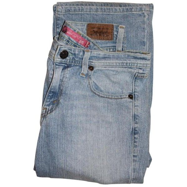 Levi's Boot Cut Jeans ($29) ❤ liked on Polyvore featuring jeans, boot-cut jeans, levi bootcut jeans, bootcut jeans, blue jeans and low bootcut jeans
