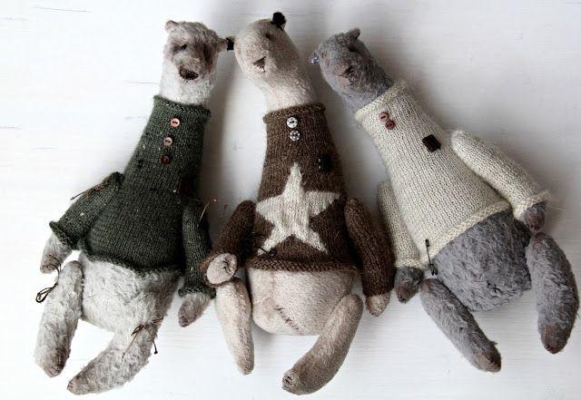 Wonderful JenAnt: April Teddy Bear