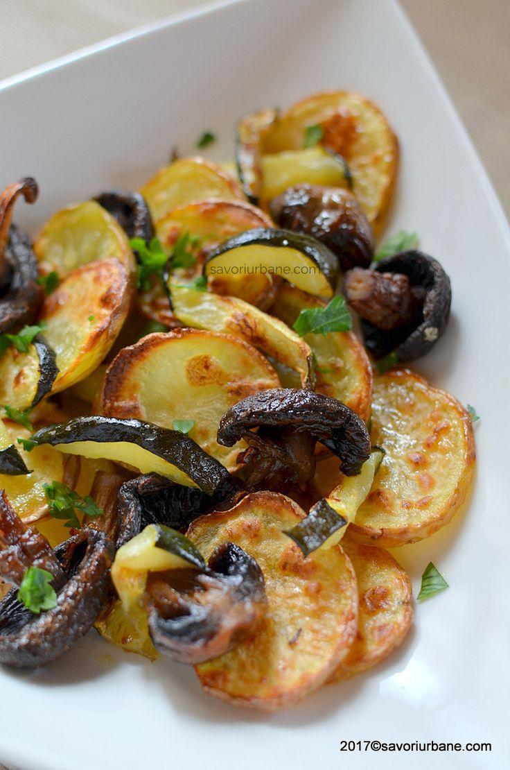 retete cartofi la cuptor cu legume