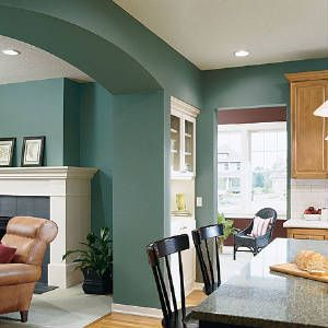 interior kitchen paint color schemes   Luxury Home Interiors with Interesting Paint Color Ideas Luxury Home ...