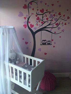 babykamer decoratie sticker idee