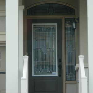 Decorative Glass Inserts For Front Doors