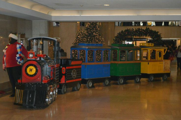 Tower city all aboard | Cleveland Christmas 2013 | Pinterest