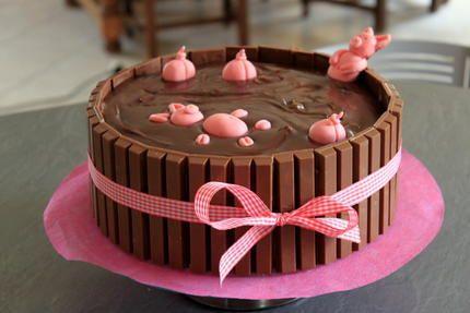 """Un """"Bain de boue"""" pour les cochons qui donne bien envie"""