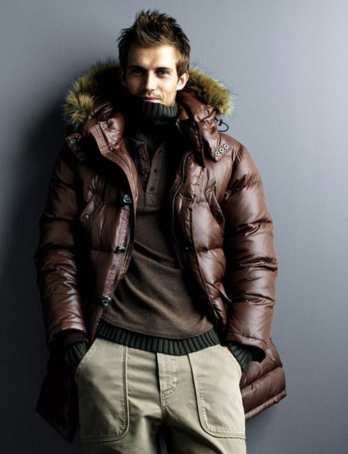 Winter Jacket...I'm not a fan of fat and puffy....but on a skinny boy it can work.