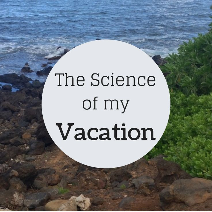The Science of my Vacation