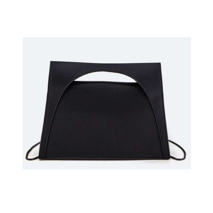 #CoolHatcher #Curated Black Structured Top Handle Bag #SocialGood