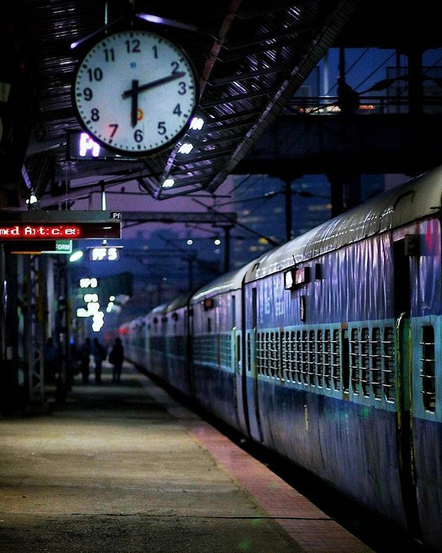 Railway Station Santhu Photogram Use Our Hashtag Tpsindia For Features Train Photography Blur Background Photography Studio Background Images Hd train background for editing