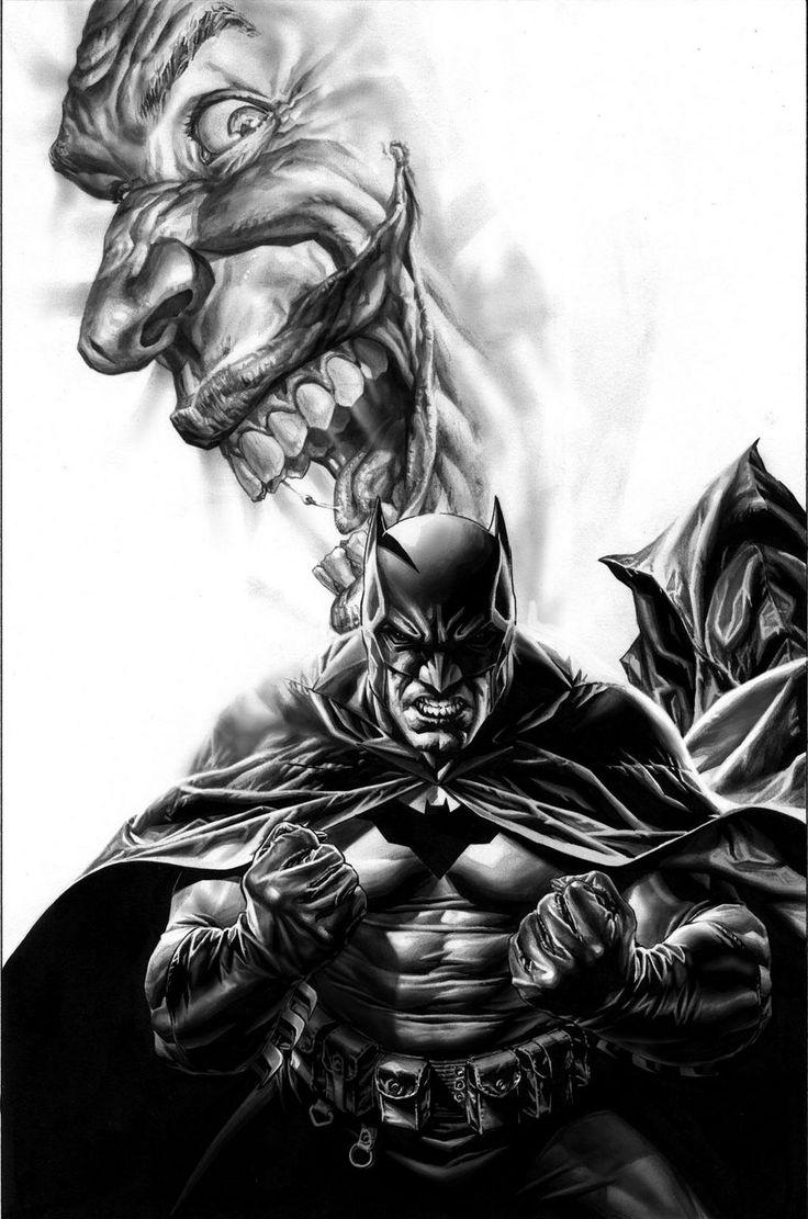 Batman/Joker by Lee Bermejo