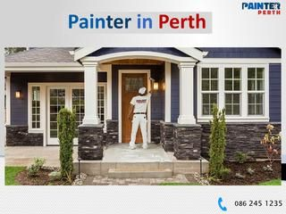 Painter in Perth  You may paint your house but to paint it well and beautifully, you need an expert hand. Many painting services have started in Perth that offer their expert painters in Perth for several kinds of paint jobs.