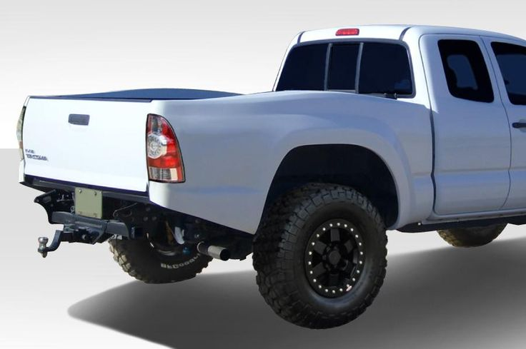 """2005-2015 Toyota Tacoma Duraflex Off Road 6"""" Bulge Trophy Truck Bedsides Rear Fenders (long bed) - 2 Piece"""