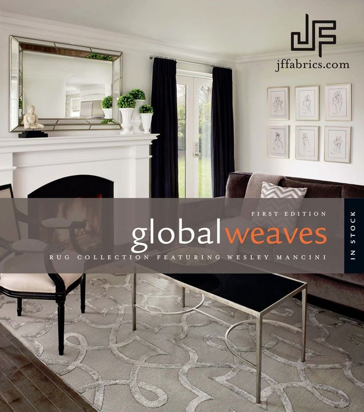 Global Weaves Featuring Wesley Mancini #jfrugs #rugs