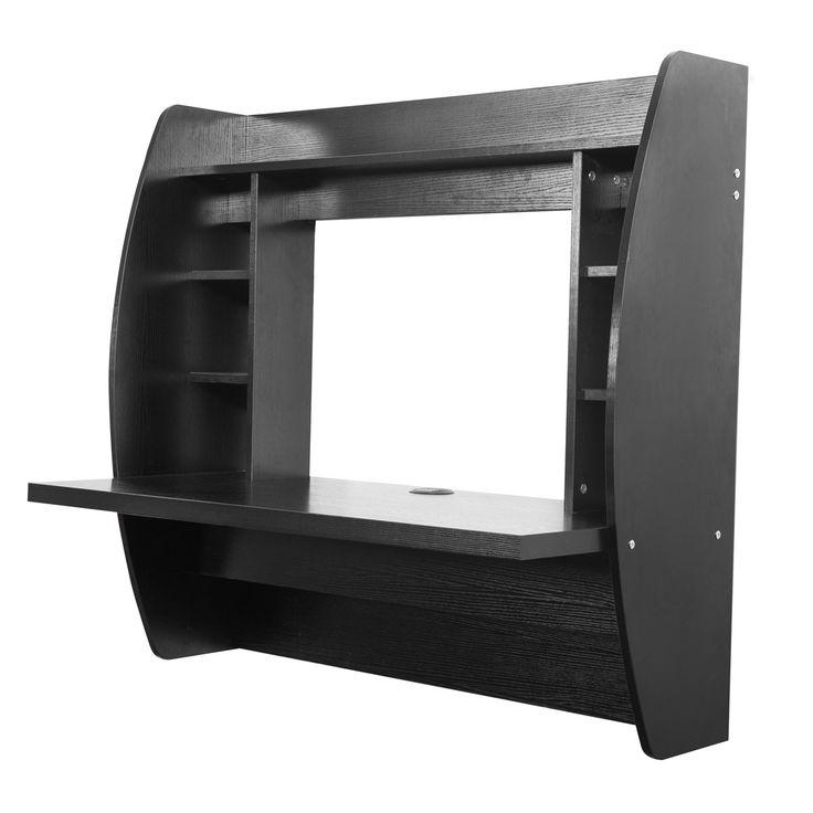 17 best ideas about floating computer desk on pinterest computer nook desk plans and cool - Floating office desk ...
