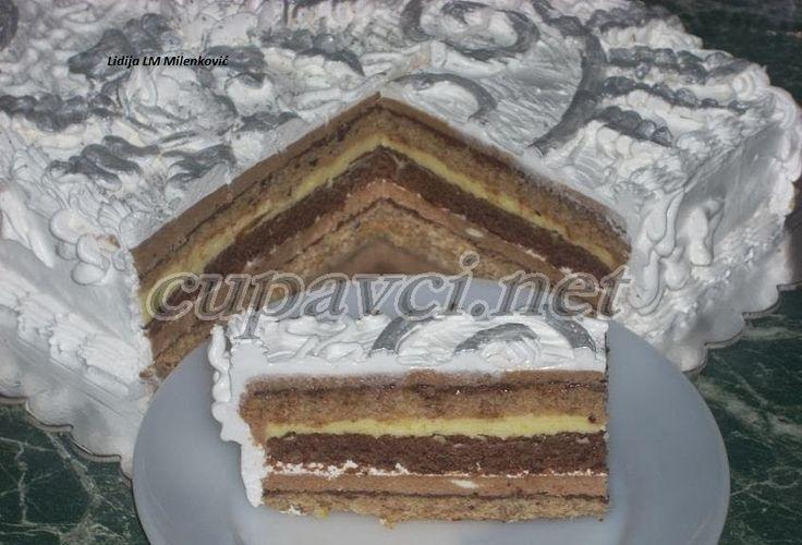 Posna čoko-oranž torta