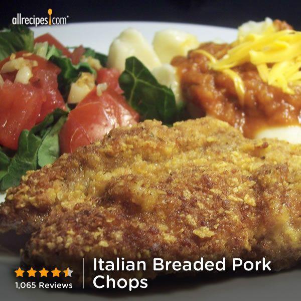 "Italian Breaded Pork Chops | ""This is by far the best pork chop recipe ..."