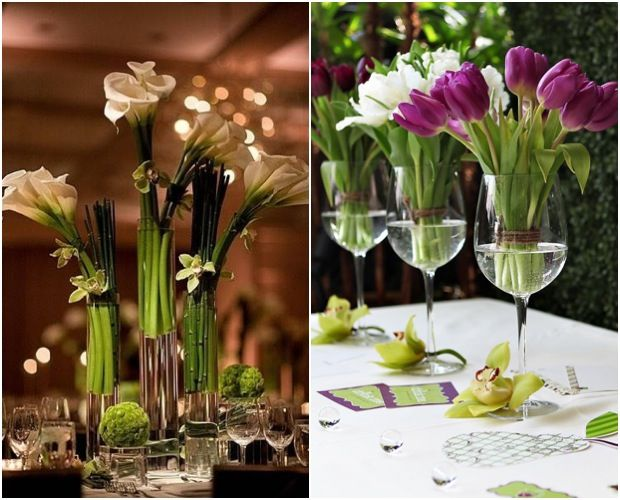 Stunning wedding centerpiece ideas. To see more: http://www.modwedding.com/stunning-floral-wedding-centerpieces-that-will-melt-your-heart/