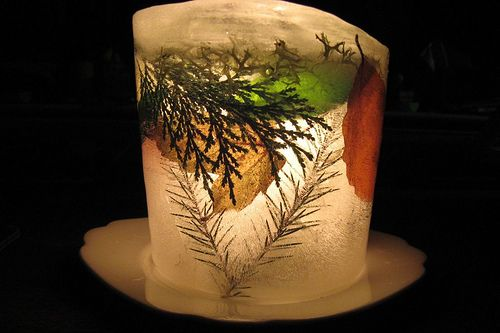 88 Best Christmas Light Ice Lanterns Images On Pinterest