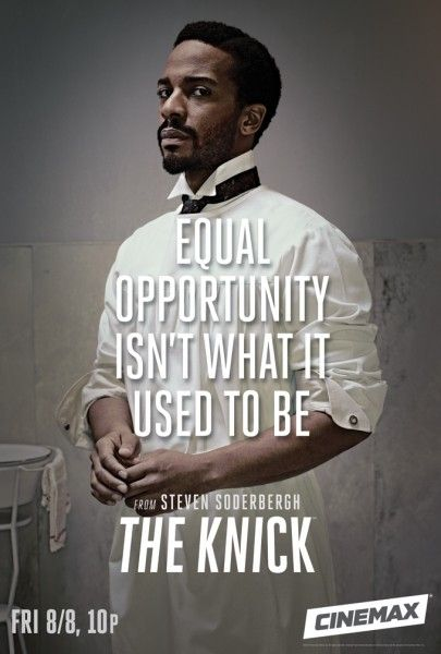 Dr. Algernon Edwards - The Knick