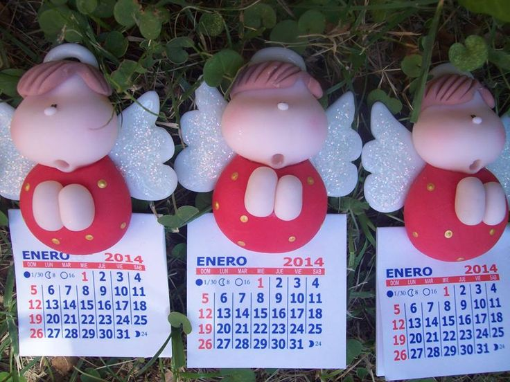 Calendarios para heladeras.