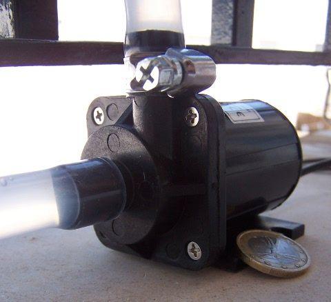 Bomba centrifuga pequeña pero potente