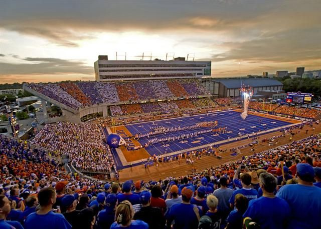I will accept any date to a Boise State football game