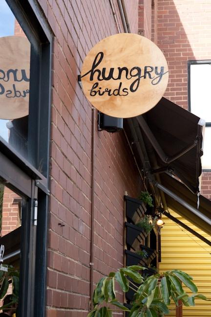 melbourne cafes photo blog: Hungry Birds