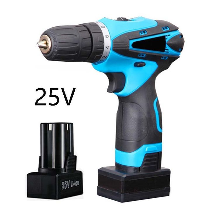 102.00$  Know more  - 25V Power Tools Wireless Screwdriver Multifunctional Electric Screwdriver Household Tool with Lithium Battery * 2