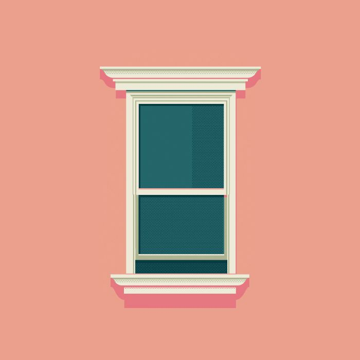 Windows of New York ► A serie of the illustrator Jose Guizar