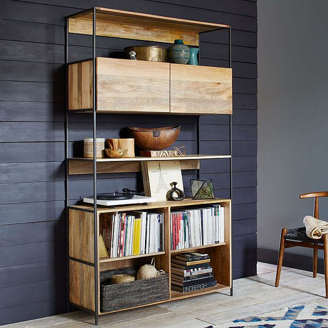 25+ best ideas about Industrial Bookshelf on Pinterest ...