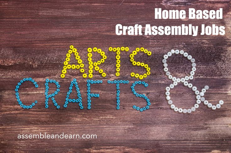 Home assembly jobs require you to assemble products at home and simple crafts. Only gluing and cutting required for these products. Join today for free.