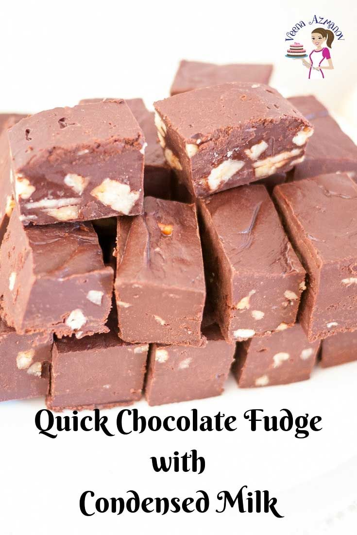 How To Make The Best Chocolate Fudge In A Microwave Using Condensed Milk And In Under Three Minutes Mic Fudge Recipes Easy Chocolate Fudge Fudge Recipes Easy