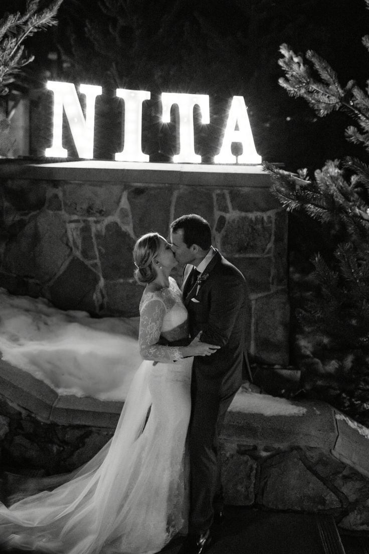 February 2nd 2016 Location: #Nita Lake Lodge, Whistler BC Wedding Planner: Sea to Sky Celebrations www.seatoskycelebrations.com #Whistler #Whistlerweddings #winterwedding