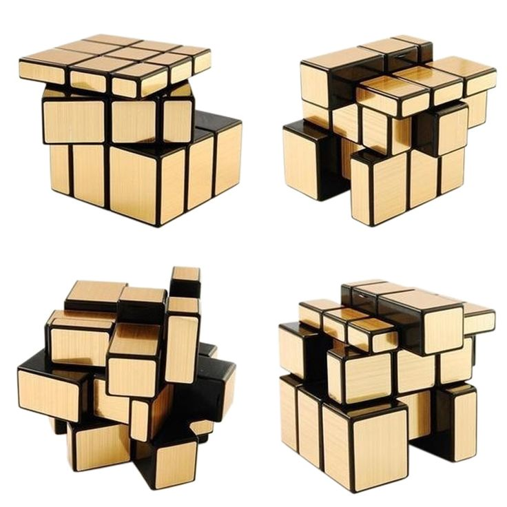 Cubo espejo dorado http://www.puzzlesingenio.com/cubos/267-cubo-espejo-dorado.html