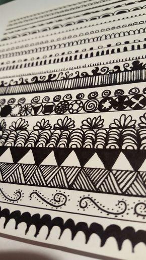 Zentangles – Basics #1