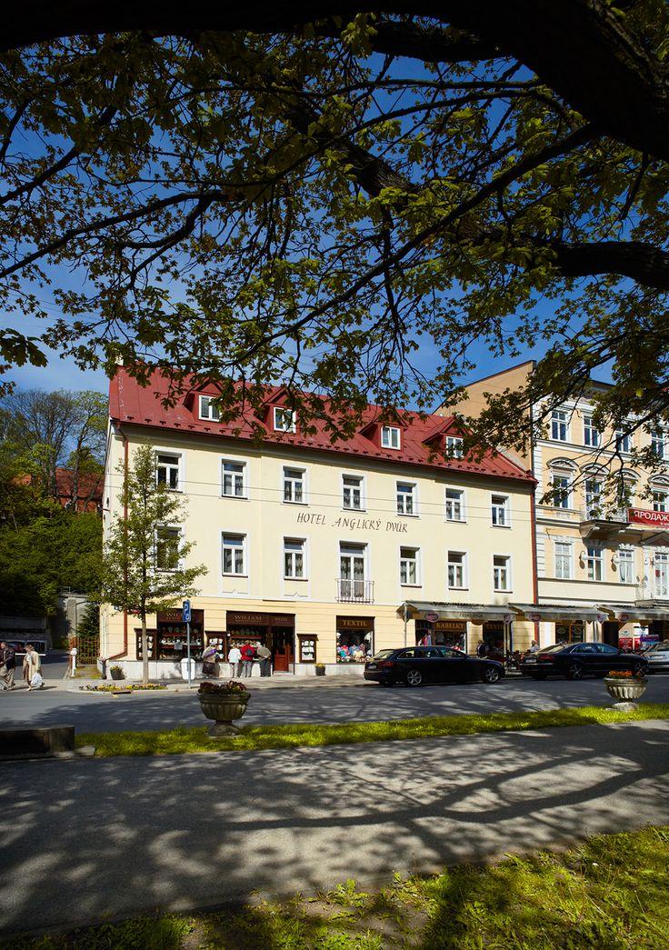 OREA Hotel Anglický Dvůr - Mariánské Lázně www.orea.cz/bohemia Hotel 4* (depandance Hotelu Orea Hotel Bohemia)
