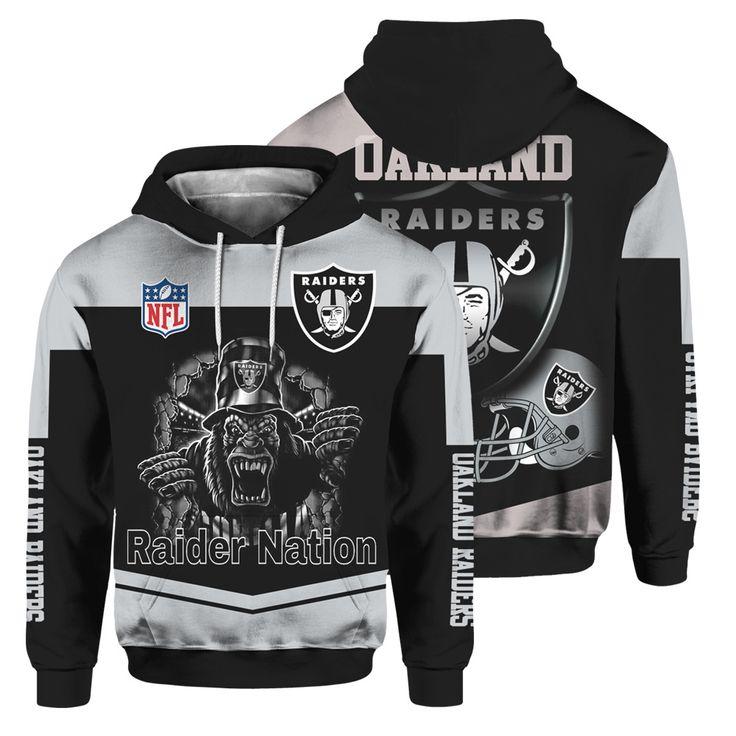 """Las Vegas Raiders hoodie cute """"Raider nation"""" cheap"""
