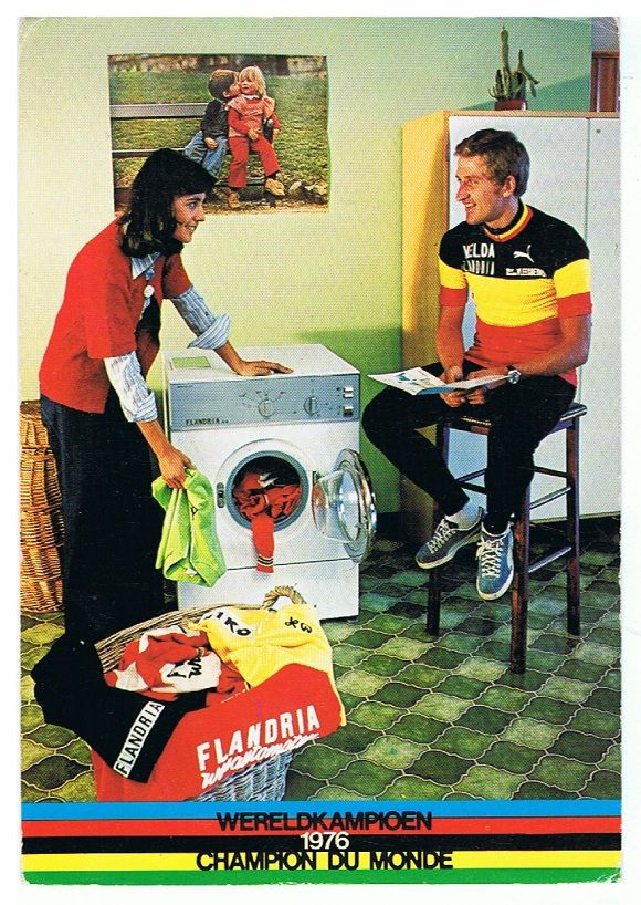 Freddy Maertens - FLANDRIA. Zie ook: http://hetiskoers.nl/2011/de-wasjes-van-mollema-maertens-en-de-vries/