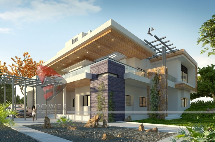 Modern house design in india architecture india for Modern house designs and floor plans in india