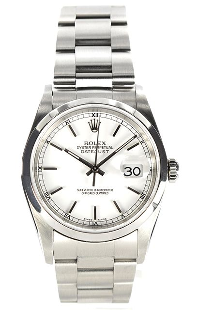 Rolex - lovely and my favourite simple and contemporary yet old looking too!! Makes me smile :-))))